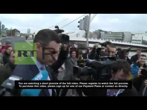 Ireland: Klitschko hopes for Crimea solution 'without blood'