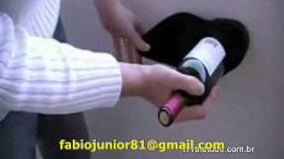 How To Open A Bottle Of Wine With Your Shoe.wmv