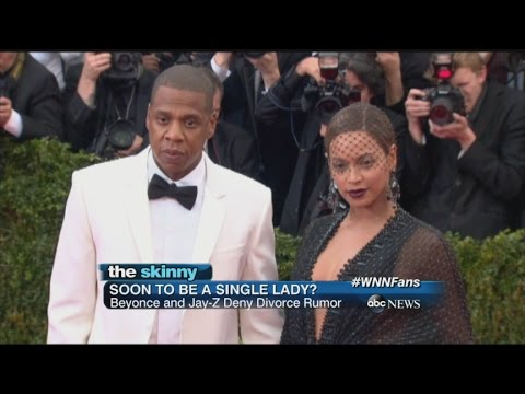 SKINNY: Rumors Circulate About a Possible Beyonce, Jay-Z Break-up