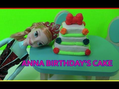 Cuộc Sống Búp Bê Barbie & Ken (Tập 7) Sinh Nhật Công Chúa Anna+ Làm Bánh Sinh Nhật 3 Tầng