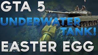 """*NEW* GTA 5 ONLINE Easter Egg """"UNDERWATER TANK"""