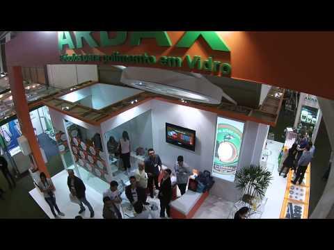 Vídeo feito por um Drone durante nossa participação na Glass 2014.