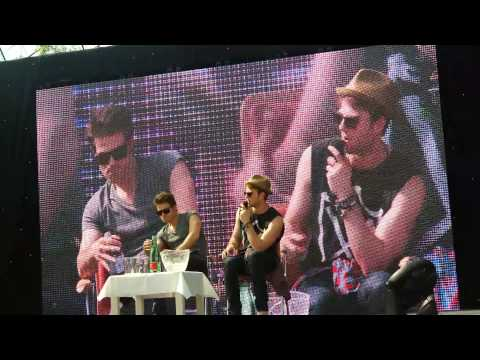 Paul Wesley and Nate Panel at Alpha Con 2014 Part 1