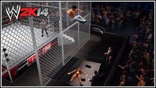 WWE 2K14 DLC Pack 2 Big E Langston Vs Fandango Hell In