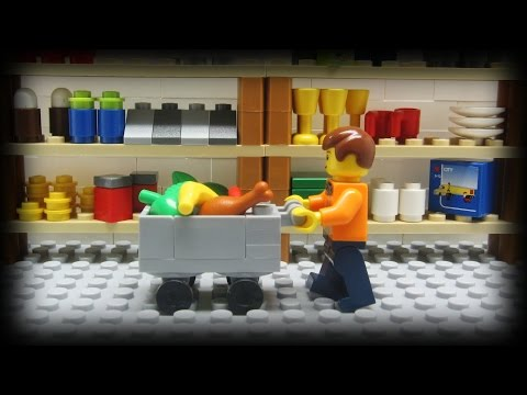 Lego Shopping, A lot of people go Lego shopping... but when an actual Lego man goes shopping, it brings in a whole new meaning. Music provided by Kevin MacLeod (incompetech...