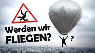 Werden wir FLIEGEN? #1  Wir bauen den kleinsten bemannten Ballon!