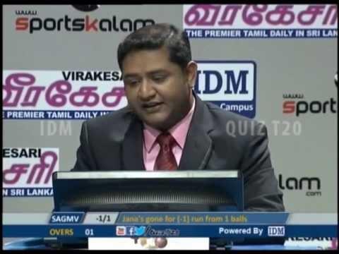 Quiz T20 - St.Annes Balika Maha Vidyalaya vs Vavuniya Tamil Madhya Maha Vidayalayam 22-05-2013