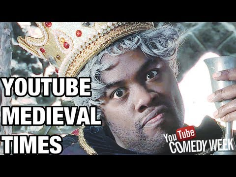 YOUTUBE IN MEDIEVAL TIMES - Black Nerd Comedy Week