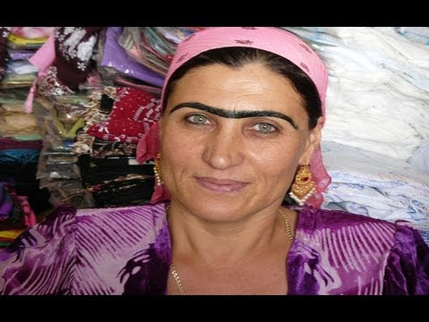 STRANGE BEAUTY IN TAJIKISTAN'S WOMEN?!