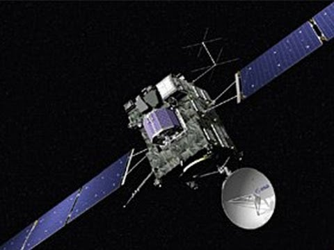 Europe's comet chaser Rosetta reactivated after 2 years of hibernation