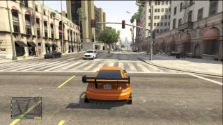 GTA 5 RARE CUSTOMIZED CAR FROM FAST AND FURIOUS 6 (SICK