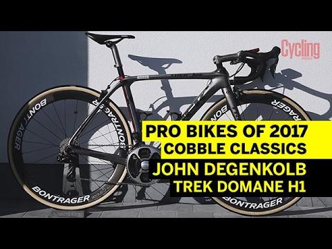 Pro Bikes of 2017: John Degenkolb's custom Trek Domane H1   Cycling Weekly