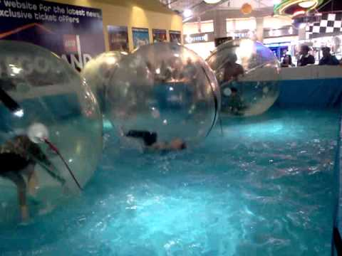 Giant Hamster Balls At Grapevine Mills Mall Texas Youtube