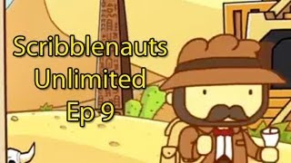 Scribblenauts Ep.9 -  FLYING DINOSAURS