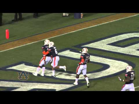 Chris Davis touchdown that beat Alabama in the Iron Bowl