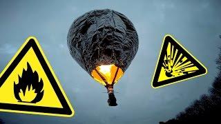 Modellballon aus Alufolie und Haarspray   DIY