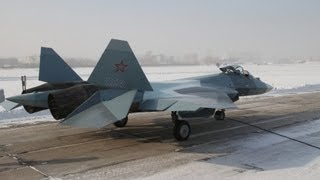 Sukhoi T-50-4 4th Pak Fa Prototype Stealth Fighter 7