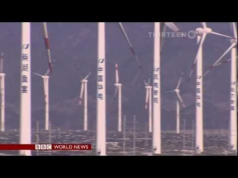 World's 'biggest push' for wind power in China