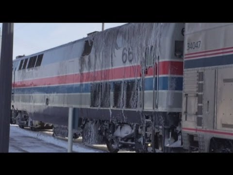 Bad weather causing Amtrak delays to and from Chicago