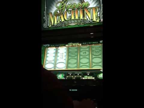 Green Machine Slot Machine - YouTube