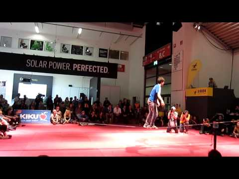 Slackline Open @ Munich ISPO 2013 - Final
