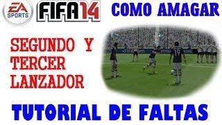 Fifa 2014. Tutorial de faltas 5