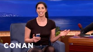 Sarah Silverman's Dirty Smartphone Hack