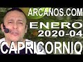 Video Horóscopo Semanal CAPRICORNIO  del 19 al 25 Enero 2020 (Semana 2020-04) (Lectura del Tarot)