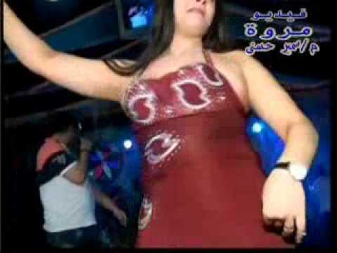 رقص نار مع فيديو مروة سمير حسنى