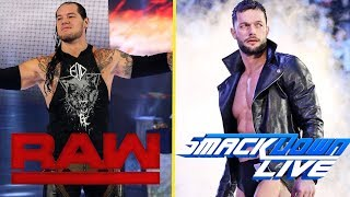 10 Wrestlers That Need To Be MOVED In THE SUPERSTAR SHAKE-UP! - Finn Balor, Baron Corbin & More!