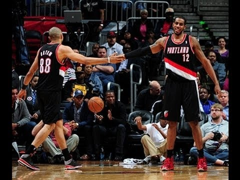 LaMarcus Aldridge Returns from Injury with a Double-Double in Atlanta