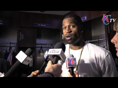 Stephen Jackson postgame vs Spurs