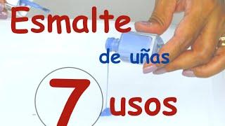 Otros usos para el esmalte de uñas