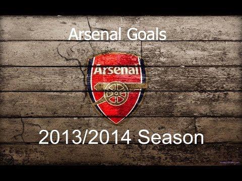 All Arsenal Goals || 2013 - 2014