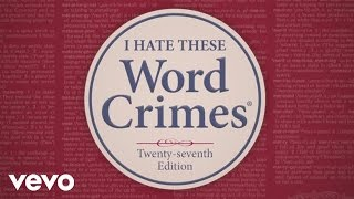 Weird Al Yankovic: Word Crimes, Parody of Blurred Lines by Robin Thicke