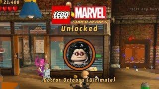 Lego Marvel-Unlock Doc Ock Ultimate