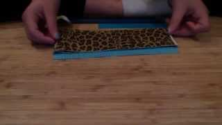 How To Make Super Easy Duct Tape Wallet