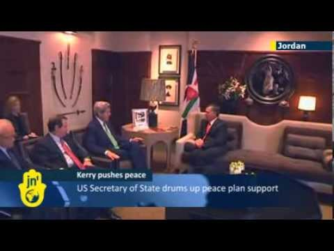 Israeli-Palestinian Peace Talks: US Secretary of State John Kerry continues Middle East tour