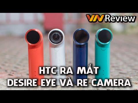 VnReview - HTC ra mắt smartphone chuyên tự sướng Desire Eye và RE - camera
