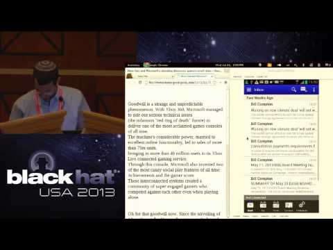 BlackHat USA 2013 - A Practical Attack against MDM Solutions