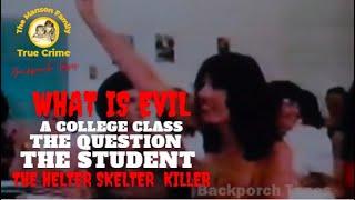 Leslie Van Houten Charles Manson Family Interview 1987