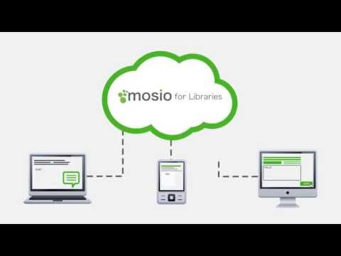 Mosio for Libraries Intro Video - Ask a Librarian Software | Chat + Text Messaging + Email + Widgets