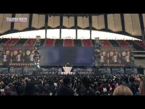 Lễ khai mạc chung kết thế giới Liên Minh Huyền Thoại