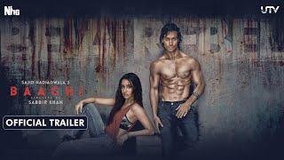 Baaghi Official Trailer - Tiger Shroff & Shraddha Kapoor
