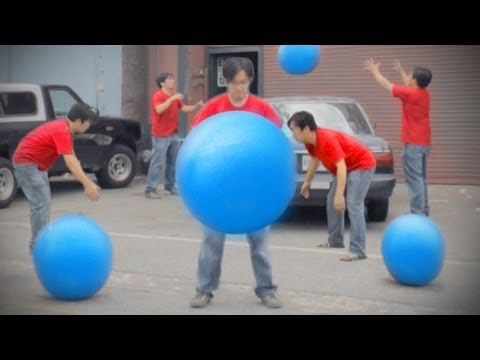 Blue Ball Machine