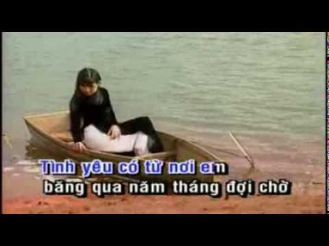 NHAC KARAOKE TINH YEU TREN DONG SONG QUAN HO (CO LOI)