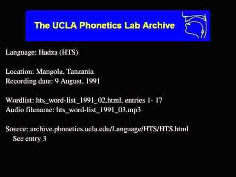 Hadza audio: hts_word-list_1991_03