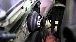 How To Install A Water Pump: 2002 2009 GMC Envoy 4.2L L6