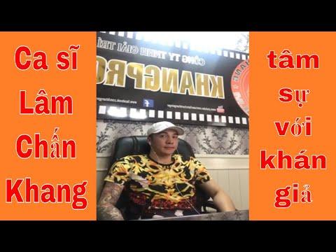 Ca sĩ Lâm Chấn Khang tâm sự với khán giả