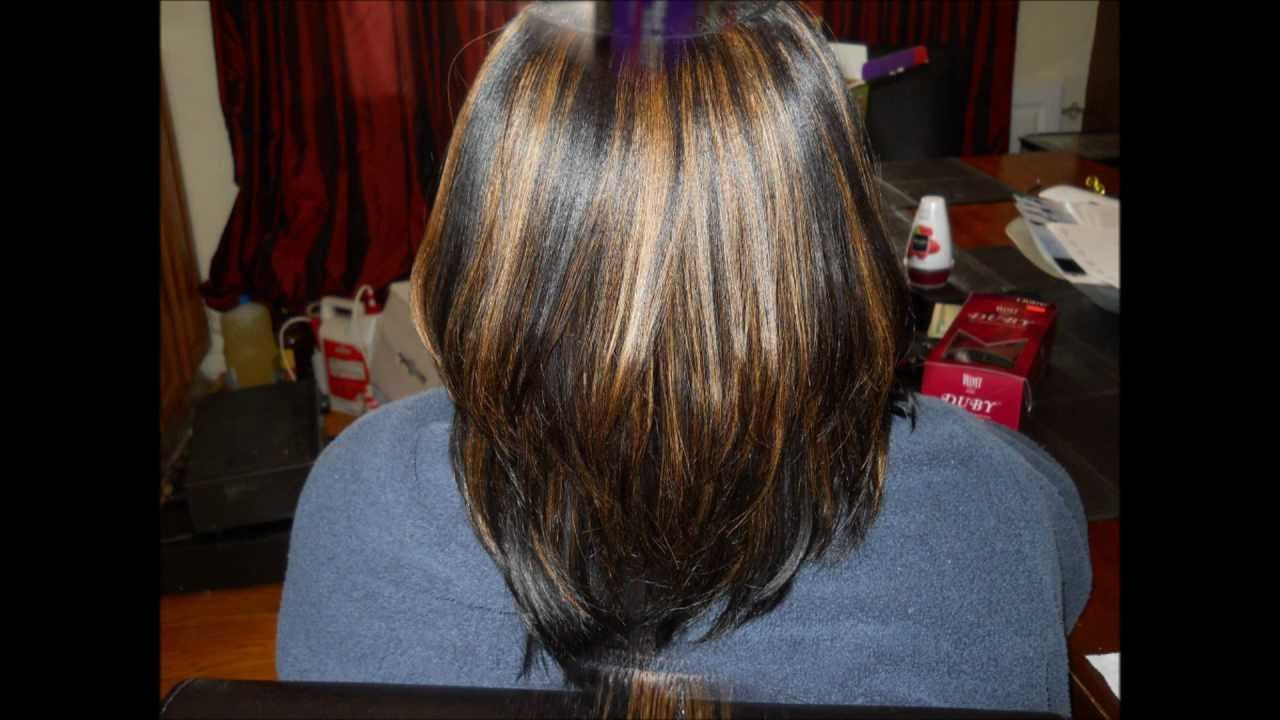 Quick Weaves 101 The Duby And The Invisible Part | LONG HAIRSTYLES